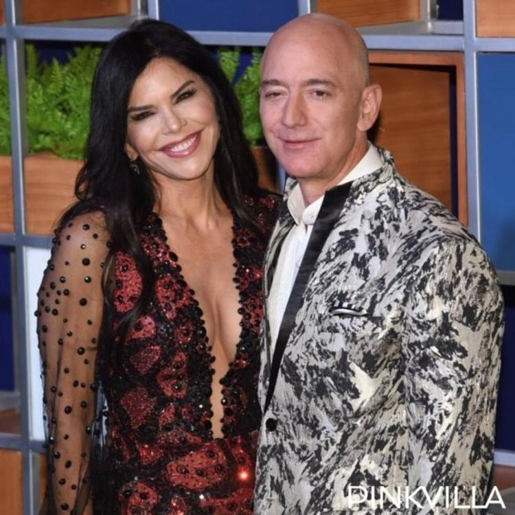 PHOTOS: Jeff Bezos makes a stylish appearance with girlfriend Lauren Sanchez at an event in the city