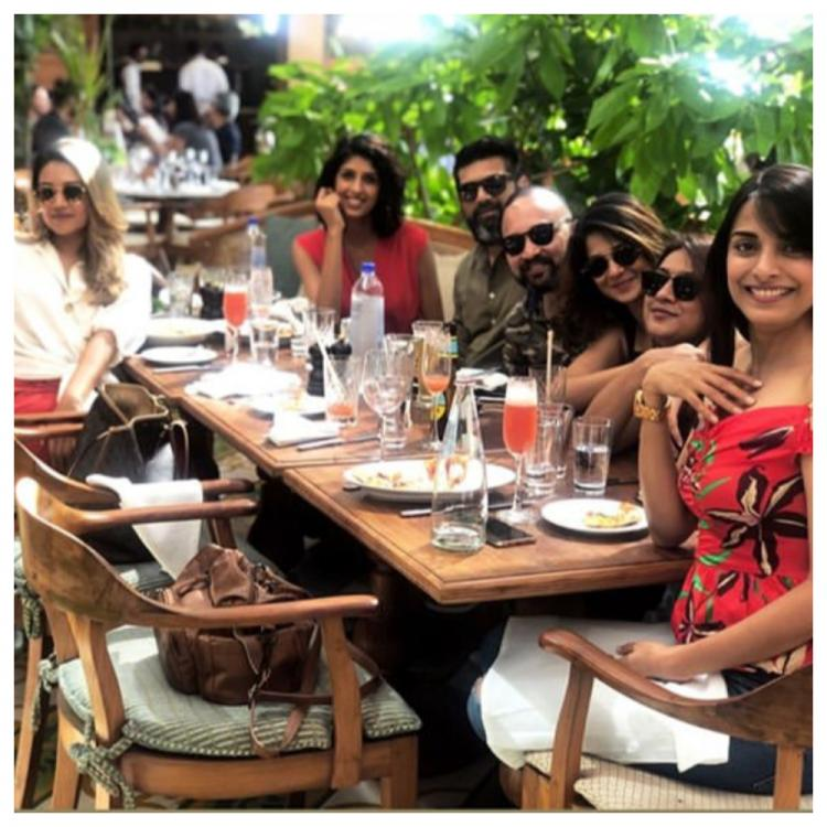 After returning from England, Jennifer Winget was spotted having Sunday lunch with her friends