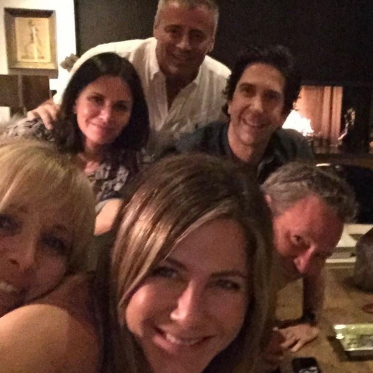Fans believe Jennifer Aniston's Friends reunion picture on Instagram features drugs; Check out reactions