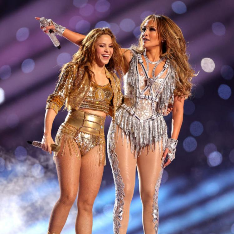 Jennifer Lopez,Shakira,Hollywood,Super Bowl Halftime Show