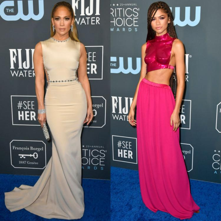 Jennifer Lopez plays it safe in Georges Hobeika while Zendaya experiments with Tom Ford; Check them out