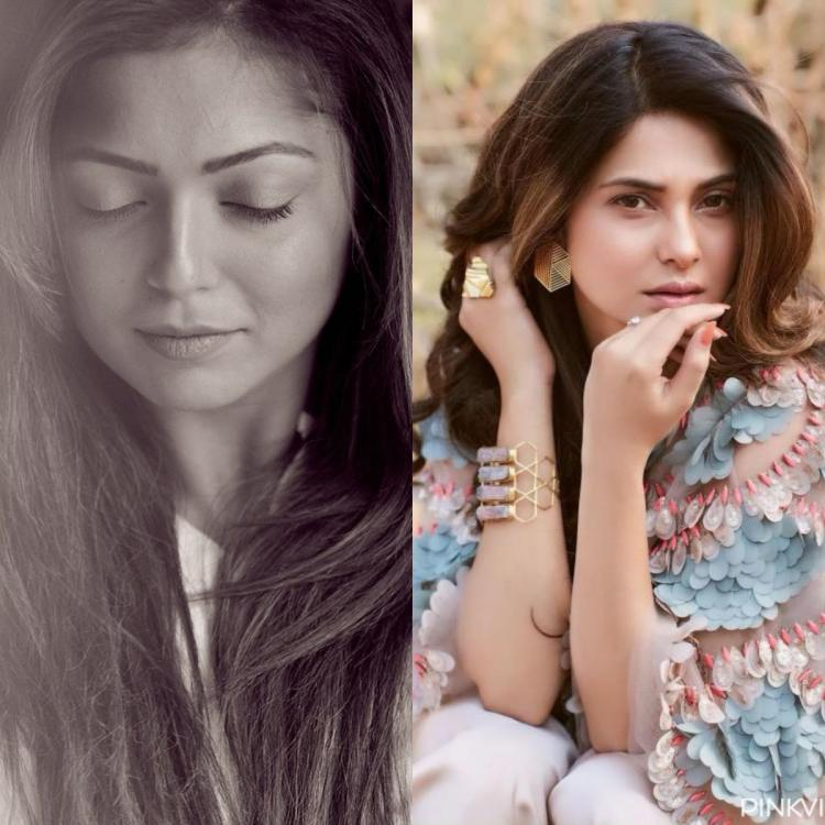 Drashti Dhami raises temperature with her latest monochrome photo and Jennifer Winget goes 'Uff'; Check it out