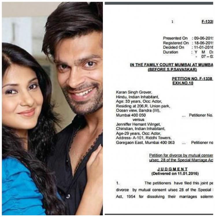 jennifer winget is shocked about her divorce papers being
