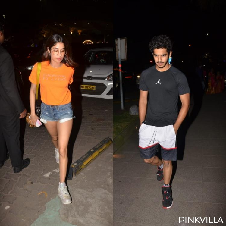 PHOTOS: Janhvi Kapoor accompanies Dhadak co actor Ishaan Khatter for a dinner date