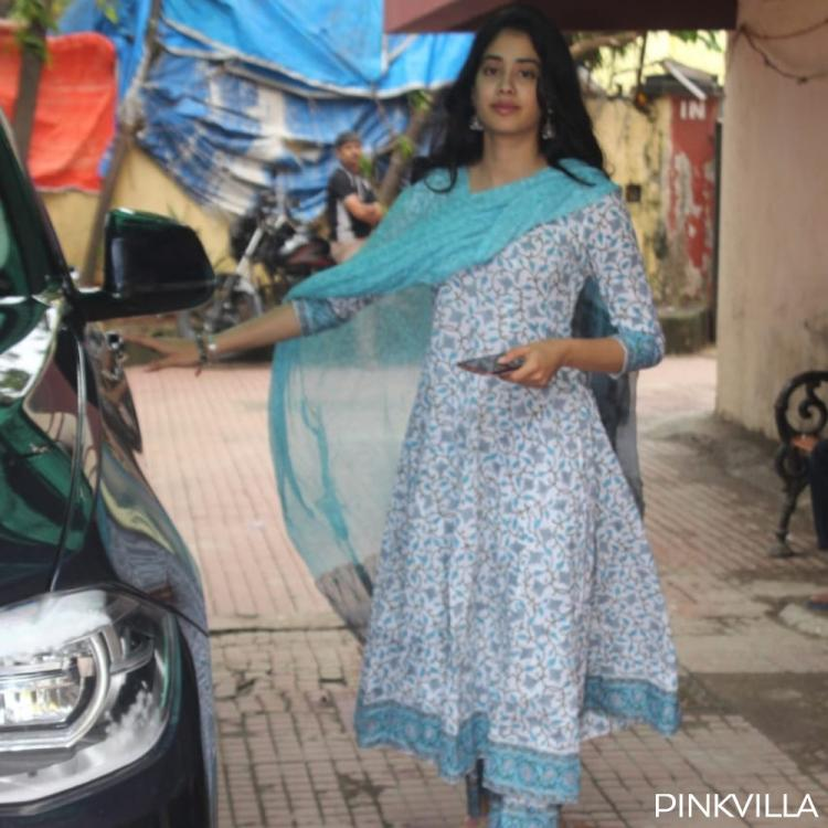 PHOTOS: Janhvi Kapoor looks simple yet elegant as she makes an exit from her Pilates class