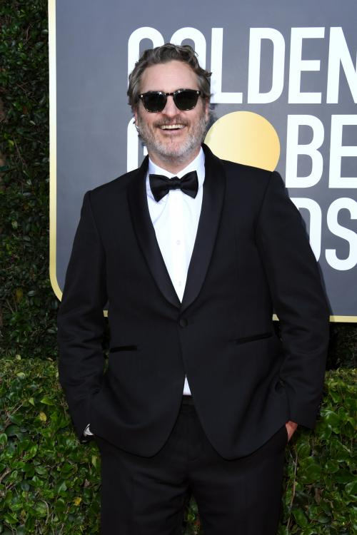 Joaquin Phoenix took home the Golden Globe for Best Performance by an Actor in a Motion Picture - Drama for Joker.