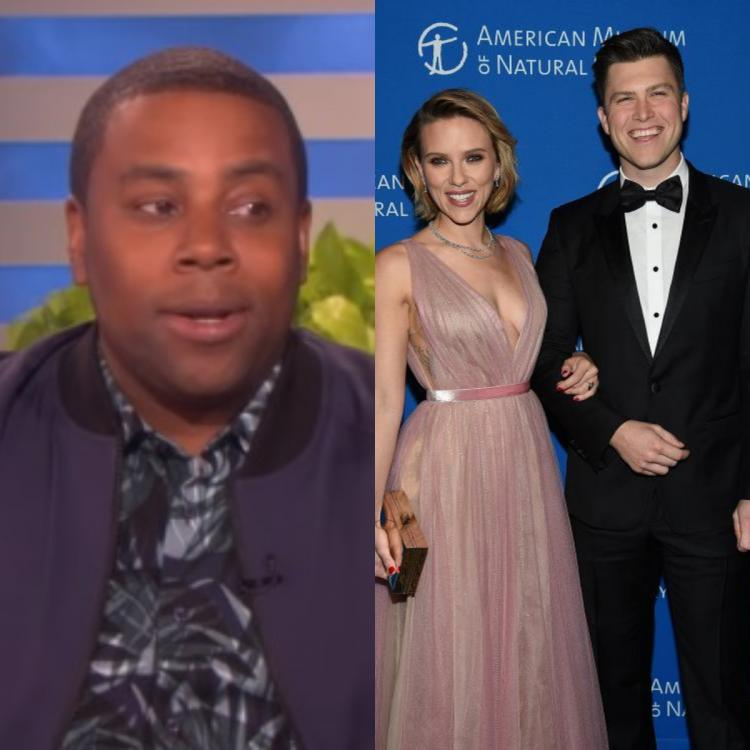 Scarlett Johansson and Colin Jost to get THIS as a wedding gift from Kenan Thompson; Find Out