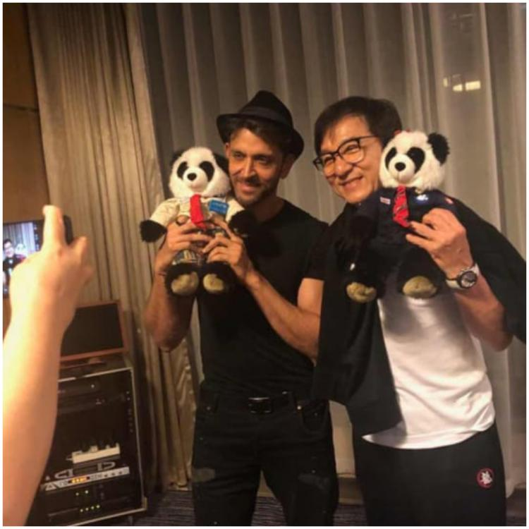 Hrithik Roshan and Jackie Chan pose for pictures and we are just as overwhelmed as the former; view PICS