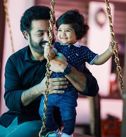 Junior NTR shares younger son Bhargav Ram's pic on his 1st birthday and the bundle of joy is beyond adorable