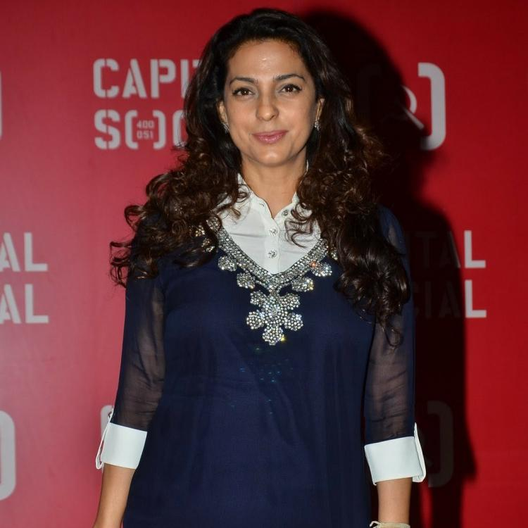 Juhi Chawla: I sometimes feel that my son can probably try his hand at acting
