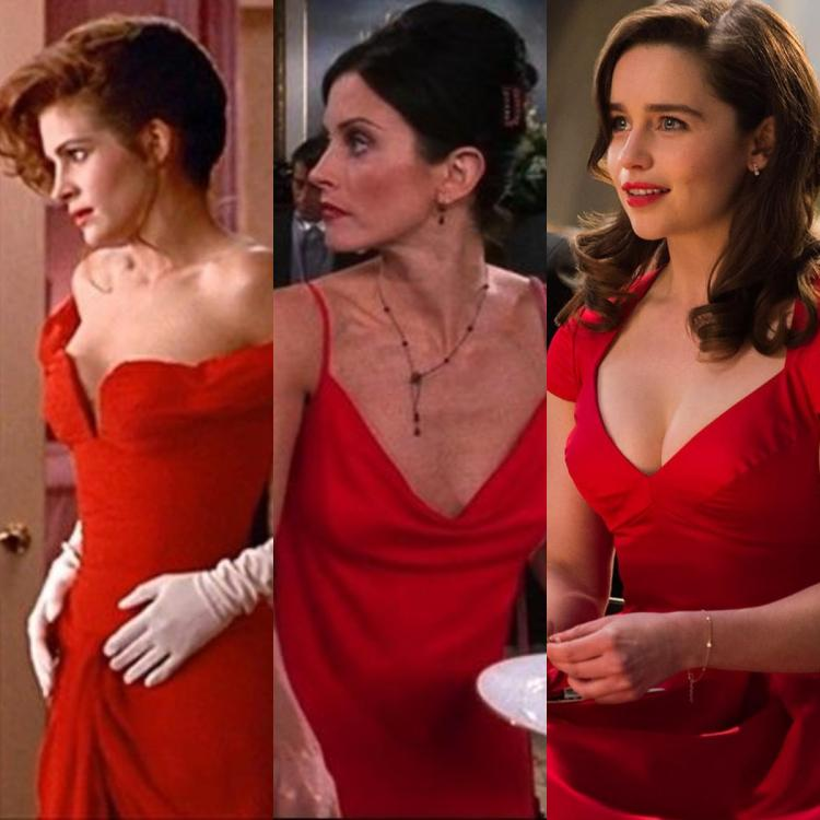 Julia Roberts in Pretty Woman to Courtney Cox in Friends: ALL red dresses to woo your man on Valentine's Day