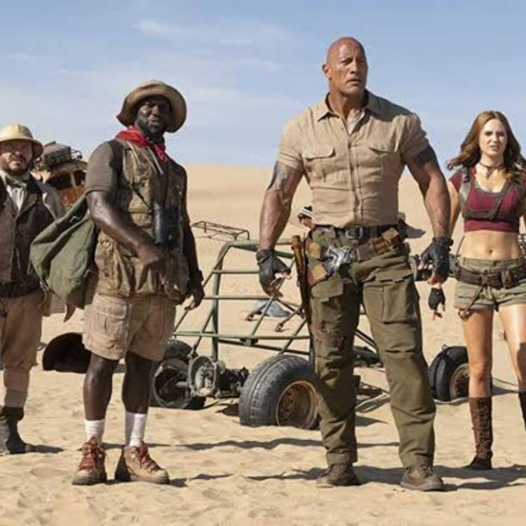 Jumanji: The Next Level Opening Weekend Box Office Collection India: The Rock starrer has an impressive run
