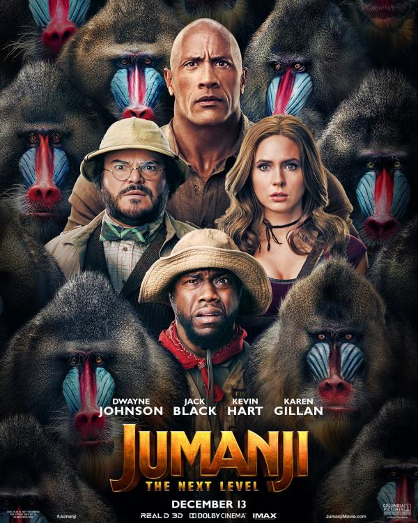 Jumanji: The Next Level is doing much better business in India than Mardaani 2.