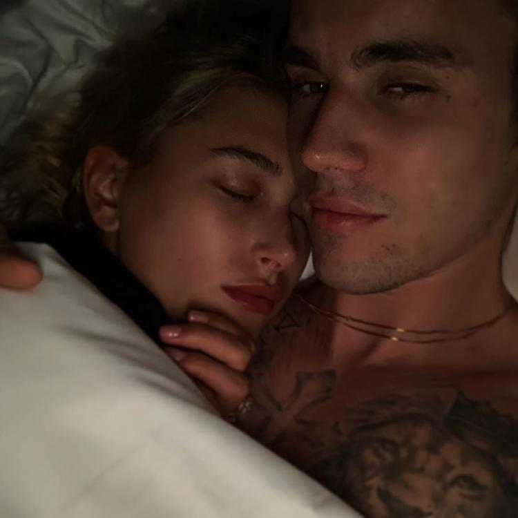 Justin Bieber and Hailey Baldwin's romantic cuddling photo has already raked in 2 million likes and counting.