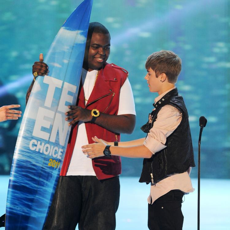 justin bieber,Hollywood,Sean Kingston