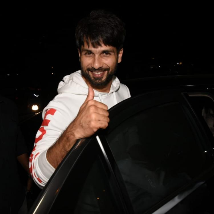 PHOTOS: Shahid Kapoor is all smiles as he comes out of the gym