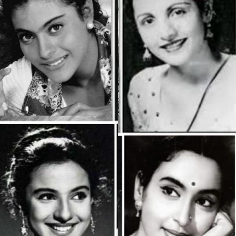 Kajol shares a throwback picture of 'the true feminists' Tanuja, Nutan and Shobhana Samarth from her family