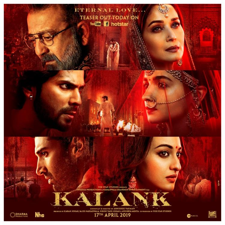 Kalank Teaser Fan Reactions: Find out what the netizens think about Varun Dhawan, Alia Bhatt's partition drama