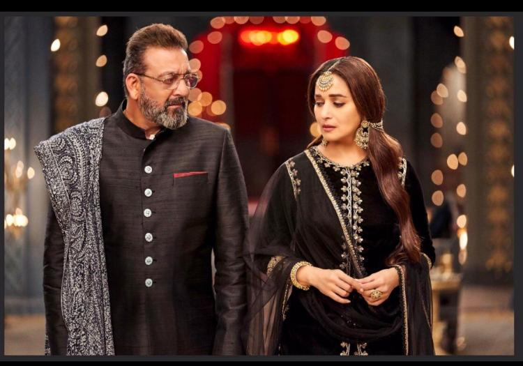 Kalank: Sanjay Dutt and Madhuri Dixit's new photo reflects pain and separation