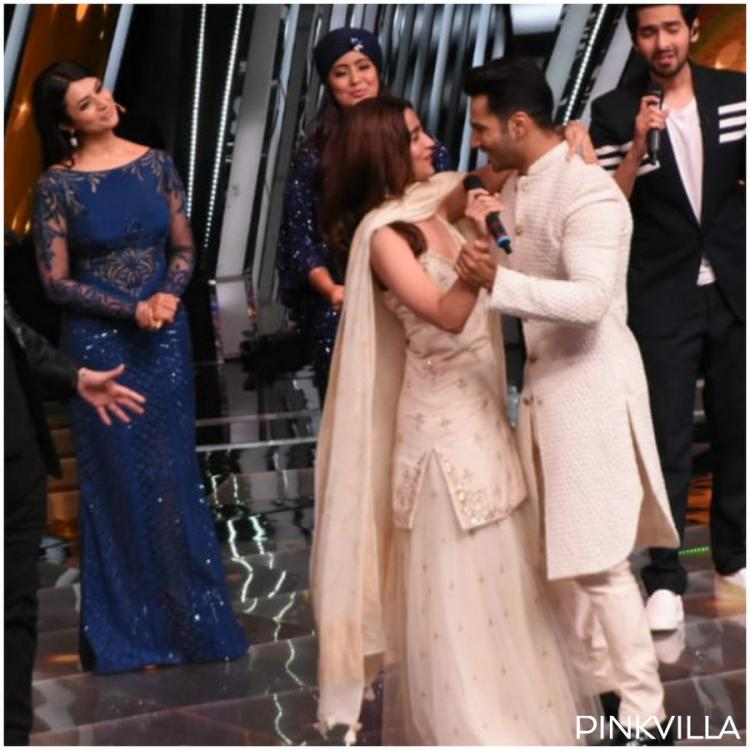 Photos: Kalank duo Alia Bhatt and Varun Dhawan are the fun best friends as they promote the film on The Voice