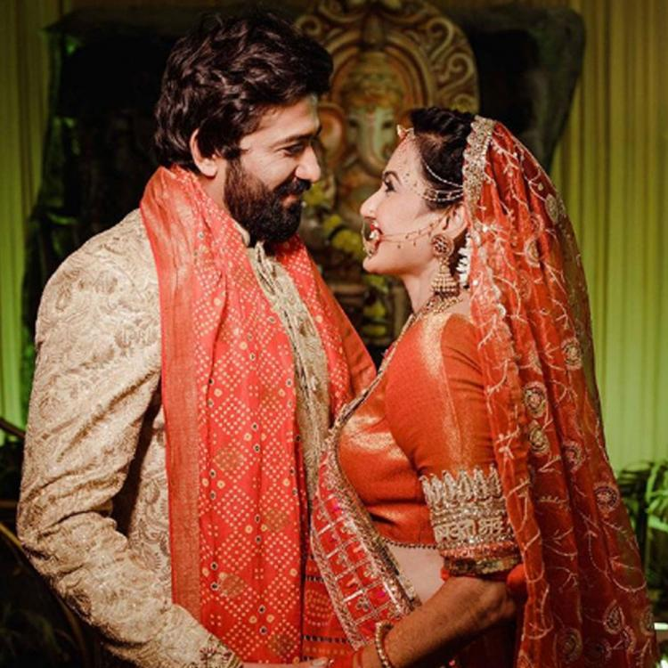 Kamya Punjabi can't take her eyes off Shalabh Dang as she celebrates first Valentine's Day post marriage