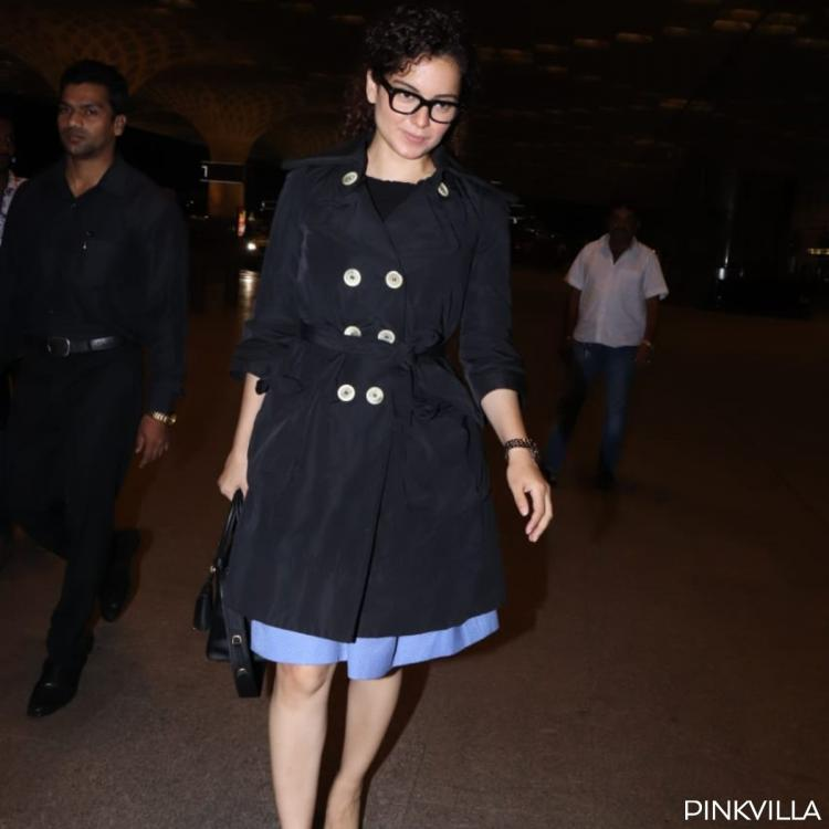 PHOTOS: Kangana Ranaut and team jet off to the US for her look test for J Jayalalithaa's biopic Thalaivi