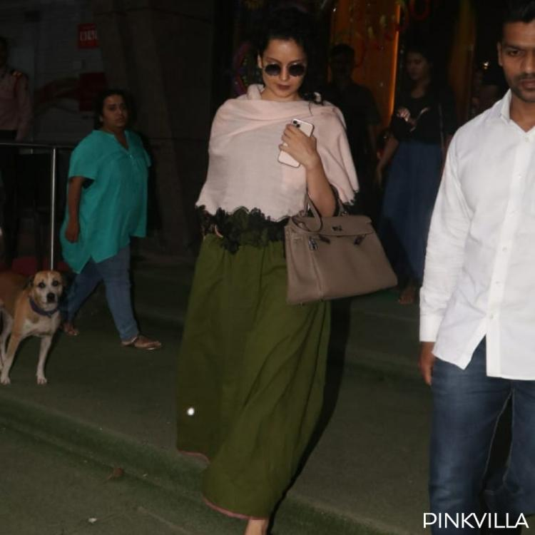 PHOTOS: Kangana Ranaut keeps it simple as she steps out of a salon in the city