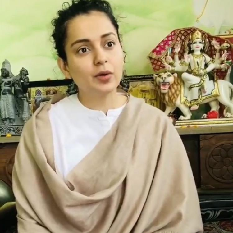Kangana Ranaut urges fans to take quarantine positively; Shares important health tips for Navratri season