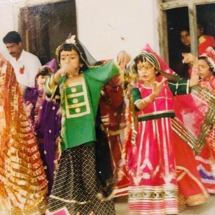 Kangana Ranaut shares a throwback PHOTO of her childhood days as performs a folk dance at her school