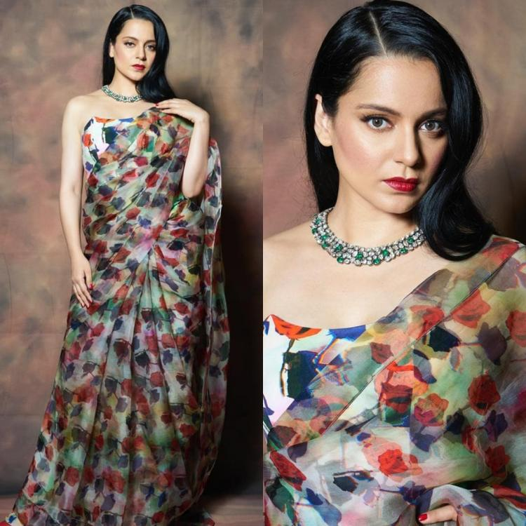 Kangana Ranaut in a House of Masaba saree is the epitome of elegance and grace; Yay or Nay?