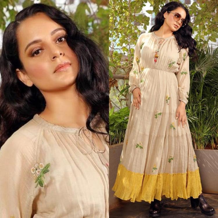 Kangana Ranaut's Pero dress for Panga promotions is all you need for your bohemian themed party