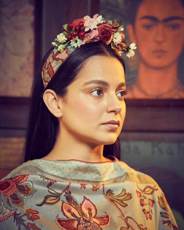 Kangana Ranaut channels her inner Frida Kahlo in an outfit by Torani; Yay or Nay?
