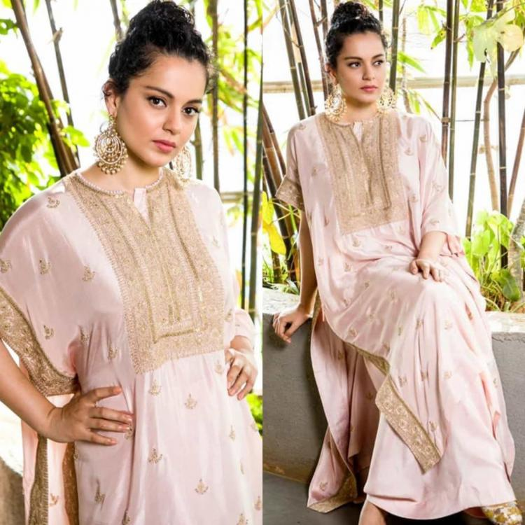 Kangana Ranaut looks ethereal as she poses in a desi ensemble by Anamika Khanna; Yay or Nay