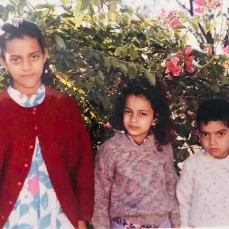 Kangana Ranaut's siblings Rangoli Chandel and Akshat call her by THIS adorable name; Find Out