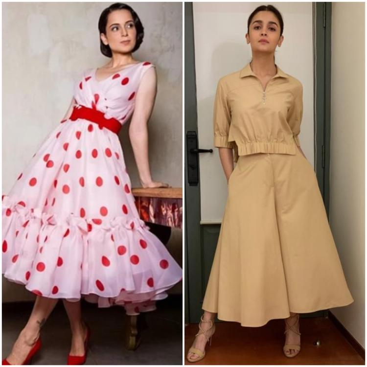 Kangana Ranaut. Alia Bhatt  and more prove that the A line silhouette is perfect for EVERY body type