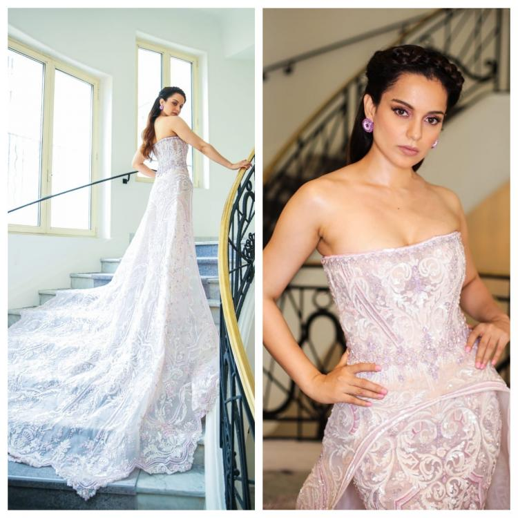 Celebrity Style,KANGANA RANAUT,Michael Cinco,Cannes 2018