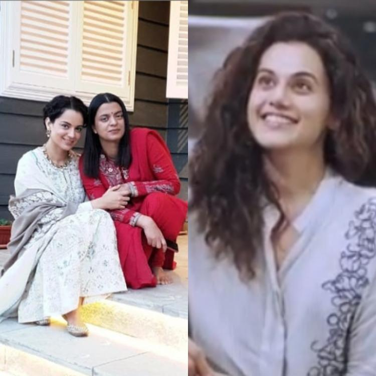 Kangana Ranaut's sister Rangoli Chandel calls out Taapsee Pannu for the latter's statement on Kangana