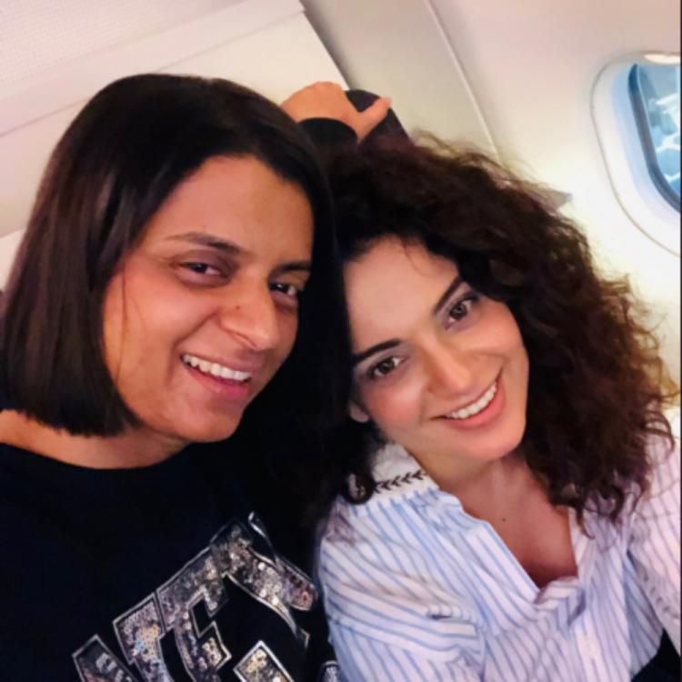 Kangana Ranaut's sister reveals Hrithik Roshan's sister Sunaina called them asking to apologise; DEETS inside