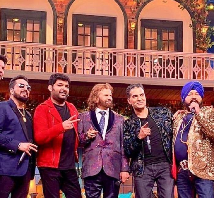 The Kapil Sharma Show: British singer Apache Indian, Daler Mehndi & Mika Singh appear on the show; watch video