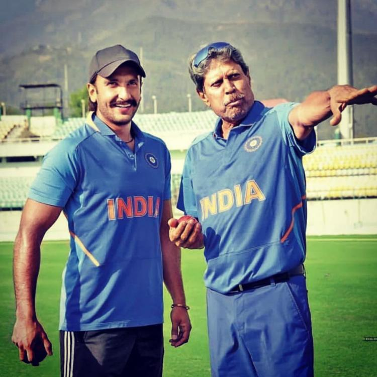 Kapil Dev REVEALS he feared for Ranveer Singh's fitness during the filming of '83; Here's Why