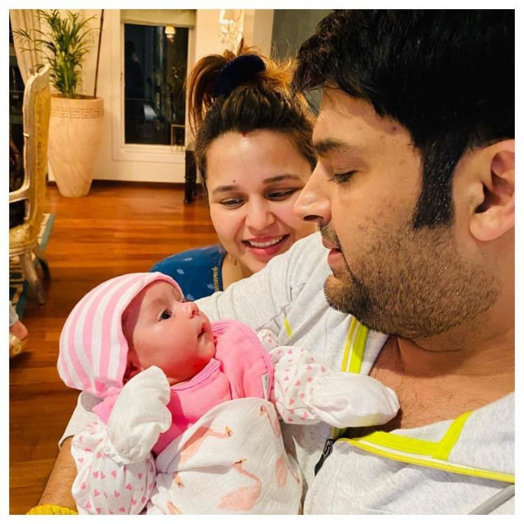 Kapil Sharma announces the name of his and Ginni Chatrath's newborn girl with a sweet note; See Post