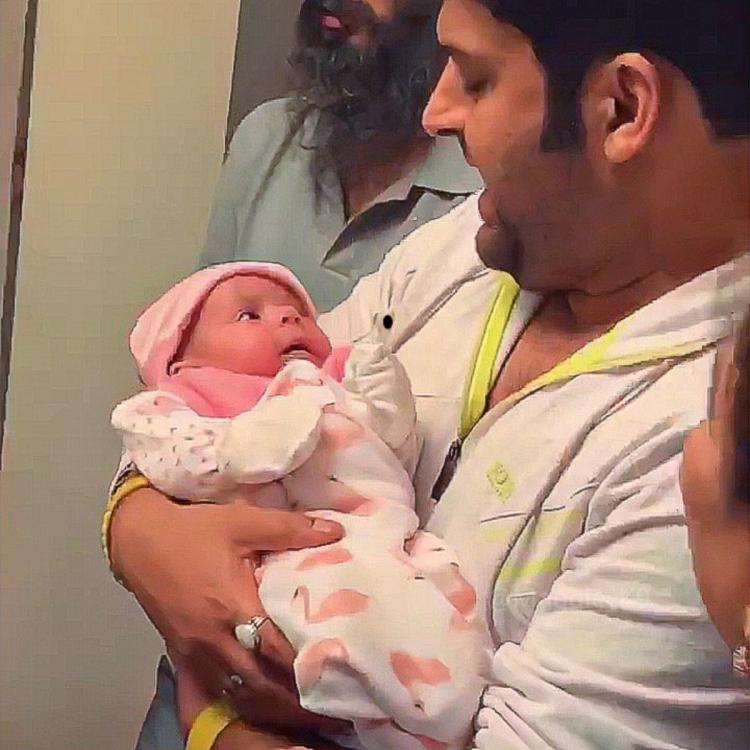 PHOTOS: Kapil Sharma holding his adorable baby girl in his arms will melt your heart; Take a look