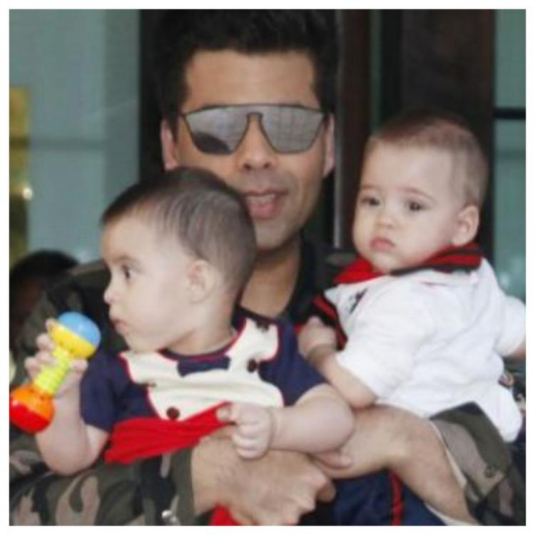 Today, Karan Johar's twins- Yash and Roohi celebrate their 2nd birthday