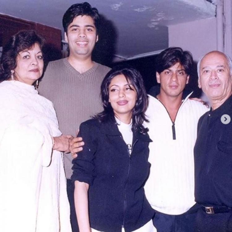 Karan Johar's biggest throwback with Shah Rukh Khan, Gauri Khan and Akshay Kumar is pure gold