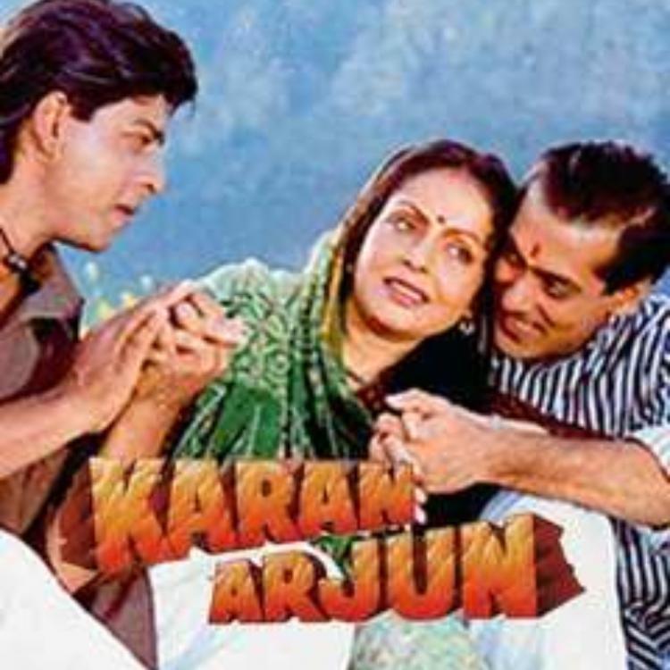 Karan Arjun completes 25 years: Salman Khan & Shah Rukh Khan's fans get nostalgic as they share pics & videos