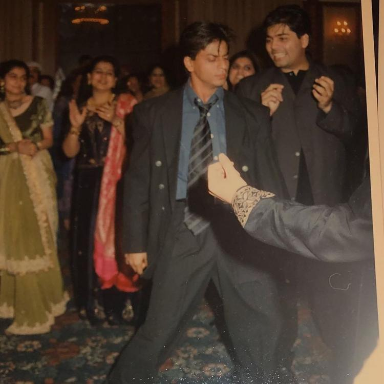 Shah Rukh Khan turns showstopper at Sanjay Kapoor's sangeet as he dances to Chaiyya Chaiyya