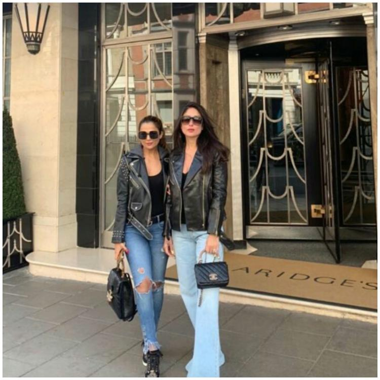 Kareena Kapoor Khan and Amrita Arora are BFF goals as they take on London in style; view PICS