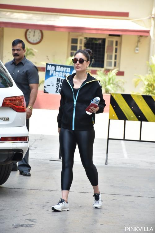 Kareena Kapoor Khan shows why black is everyone's go to colour with her latest gym outfit; see pics