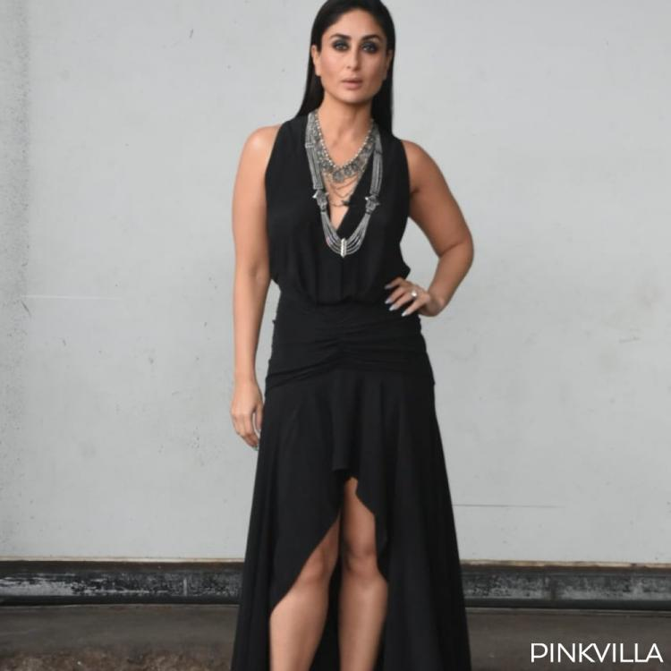 PHOTOS: Kareena Kapoor Khan weaves black magic with her gown & silver jewellery for Dance India Dance 7