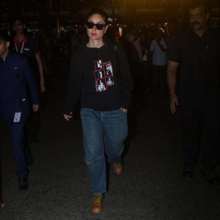Airport Diaries: Kareena Kapoor Khan keeps it comfy and cool as she returns from London